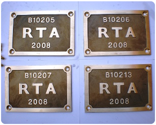 NSW RTA Bridge Plates