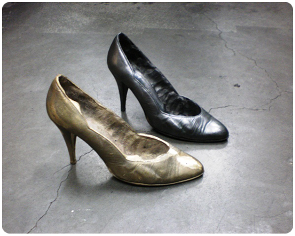 Ladies High Heel reproduced
