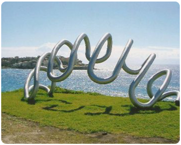Life Savers sculpture