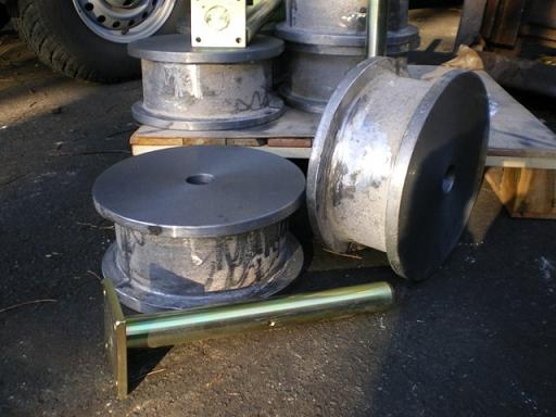 Cast Iron Slipway Wheels