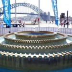 Water Feature In Sydney Harbour